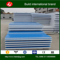 Cheap metal eps sandwich panel/steel polystyrene sandwich panel price factory in Hebei with factory price