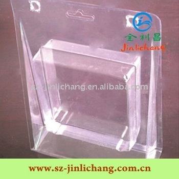 Clear Blister Clamshell Packaging for accessories Electronics/LED/Charger