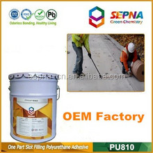 Filling road gap ISO9001 and CE certificated joint filler road crack repair sealant polyurethane foam