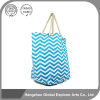 Printed promotion canvas custom PU tote bag for handbag with wholesale price