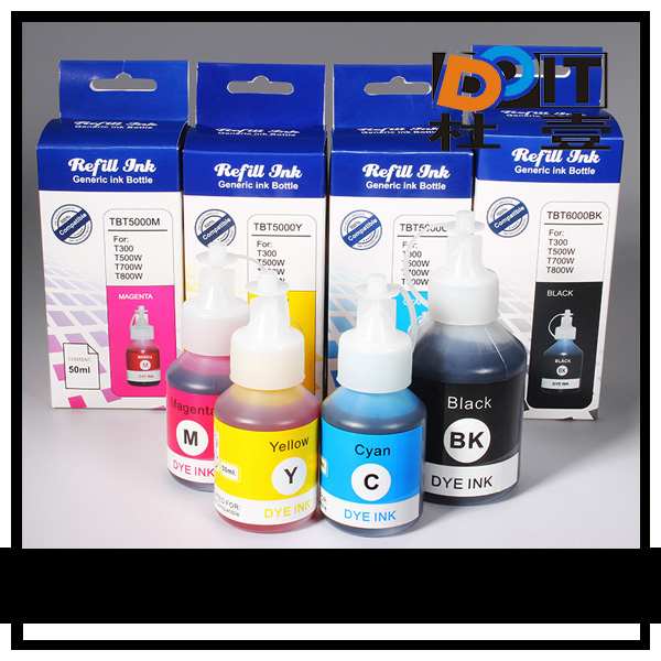 textile printing ink for brother ink bottles 100ml OEM original bottle ink