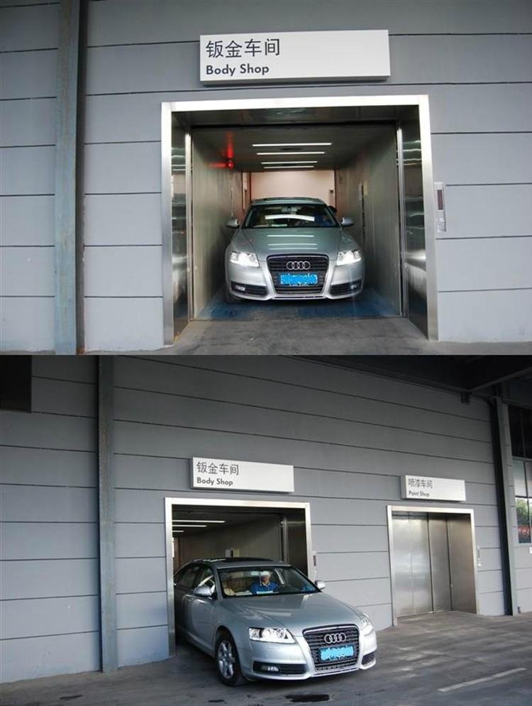 Deeoo Best Price Underground Home Garage Car Elevator Car