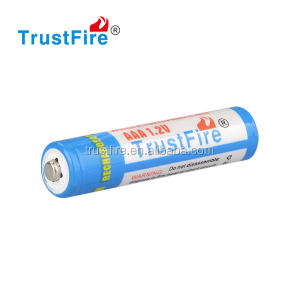 Trustfire smallest 1.2V AA 2500mAh*4 ni-mh rechargeable battery