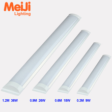HOT SALE! Led linear light fixture 4ft 1200mm tri proof 36W ceiling mounted led tube batten light