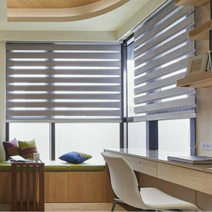 Super quality white blackout blinds waterproof sheer curtains vinyl window roller shades with free samples