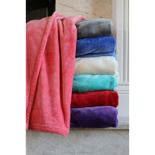 100% polyester ultra soft plush blanket throw