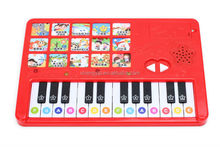2016 hot sale eletronic musical plastic baby toy piano