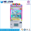 2017 Hotest Wow Push Doll Crane Prize Vending Machine/Claw Machine Simulator