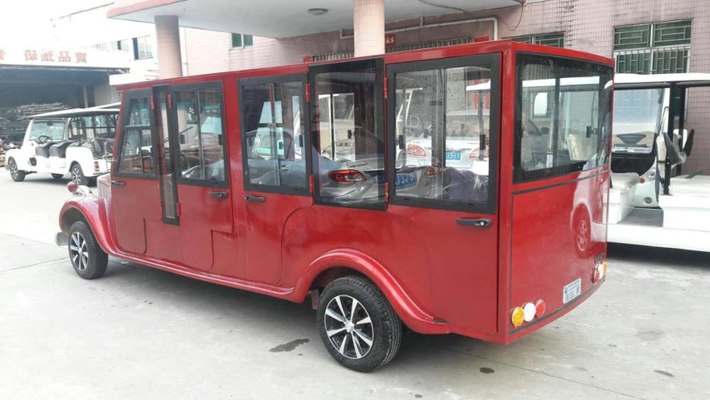 Vintage Electric Shuttle Bus Vintage Electric Car For Pick Up 8 Persons