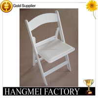 wholesale wedding chairs/white wood folding chair
