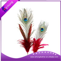 Factory Wholesale High Quality Big Eye Natural Peacock Feathers