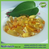 GMP certified Private label/contract manufacturer flaxseed oil softgel capsules oem