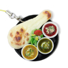 new creative promotional gift items fake food keychain