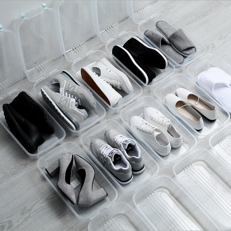 gorgeous foldable shoe box storage <strong>plastic</strong>