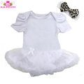 Newest Fashion Baby Girl Dress Romper White Petti Romper Baby Girl Clothes