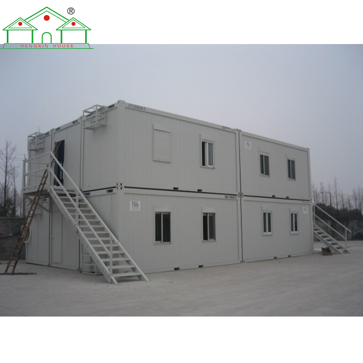 Luxury prefab steel structure shipping container house for sale