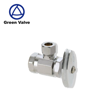 Green Guten-top High Quality Lead Free Brass Angle Valve