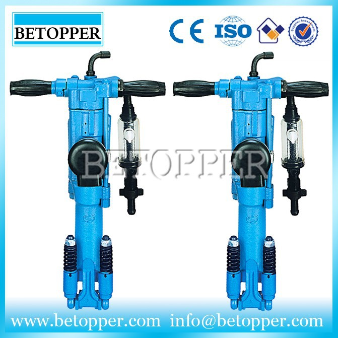 Pneumatic portable mining rock hand tools