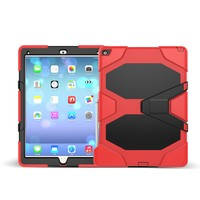 Heavy Duty Shockproof Hybrid Case For iPad Pro with Built-in Screen Protector case
