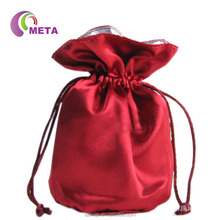 Wholesale Cheap Satin Material Cosmetic Bags, Silk Satin Bags for Weddings