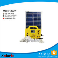Renewable energy equipment 5000w home solar system