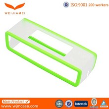 Top quality silicone smart oem design speaker cover with customer logo