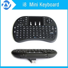 English Rii i8 2.4G Wireless flexible Keyboard air mouse Touchpad For TV Box Tablet Mini PC smart TV