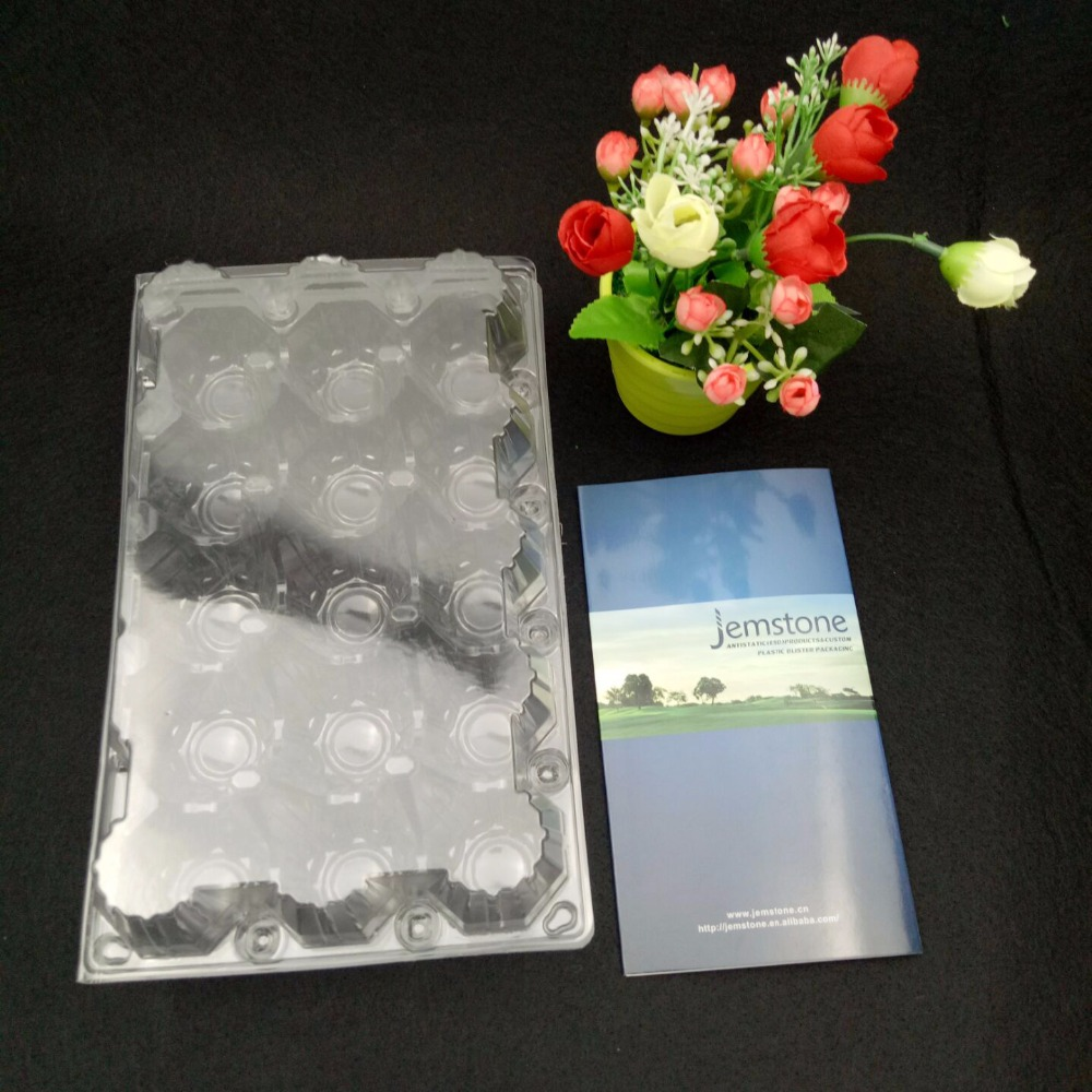 Wholesale high quality disposable plastic egg tray