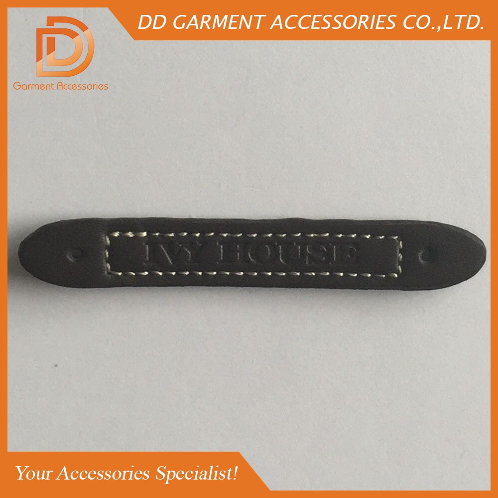 customized pu leather patches