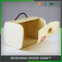 Handmade Card Wooden Coin Storage Box With Lock Wholesale