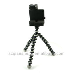Rotatable Mini Mobile phone flexible tripod for Iphone HTC Samsung Nokia Stand Holder