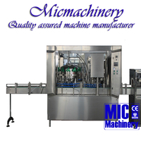 MIC-12-1 Top quality factory produce Micmachinery ring-pull can milk drink filling sealing machine with CE 800-2500Can/hr