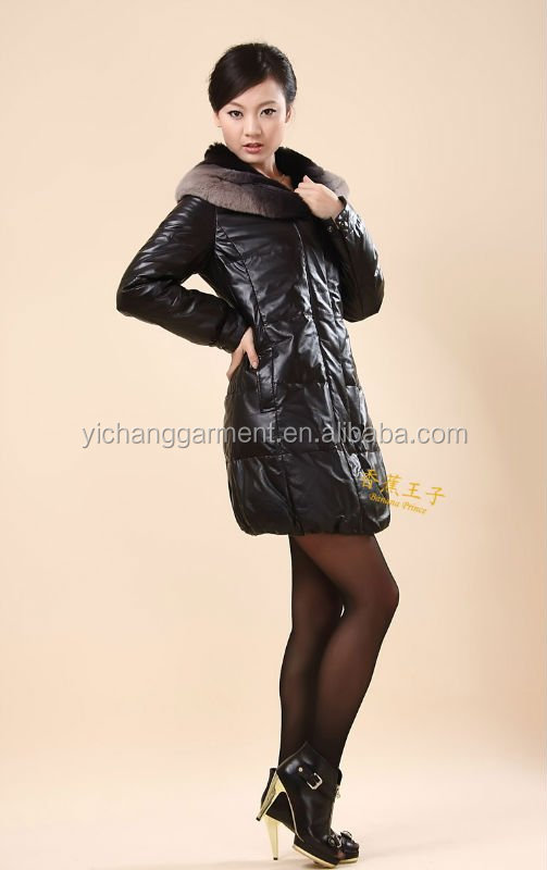 High quality Ladies Tanned lamb and Tuscana lambskin coat