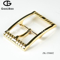 Gaolibao 2016 newest wholesale belt buckle 35mm HKK pin buckles for shoes ZK-350602