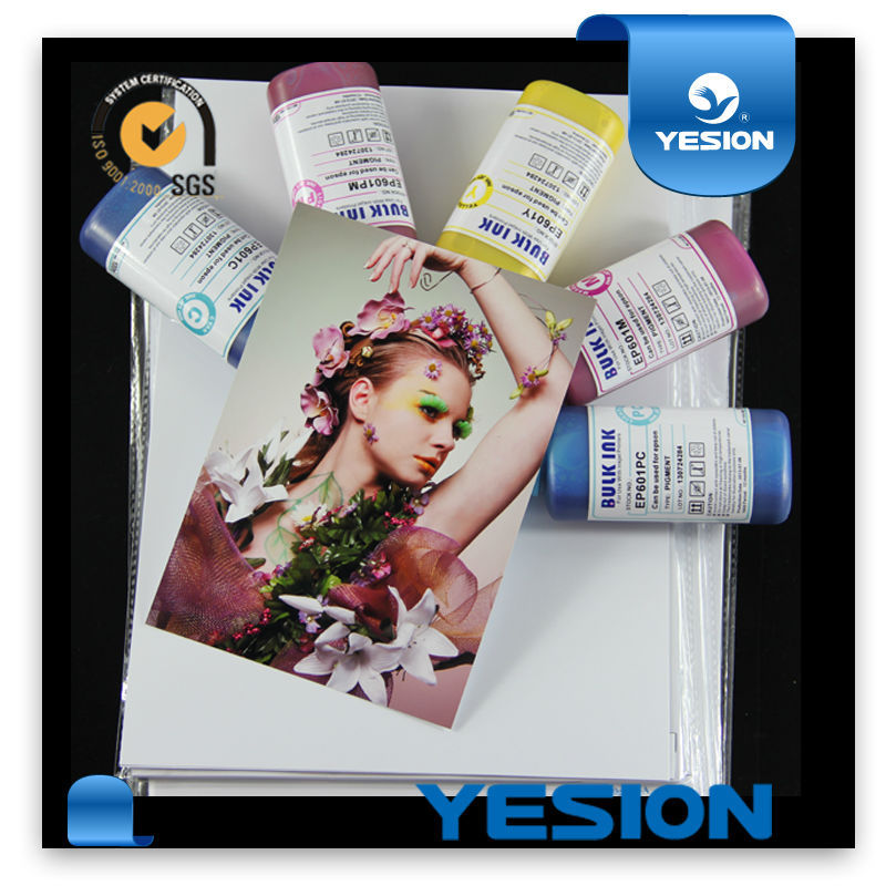 115gsm-260gsm one side inkjet cast coated super high quality glossy photo paper
