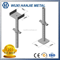 Construction Scaffolding Vertical Adjustable Screw Base Jack
