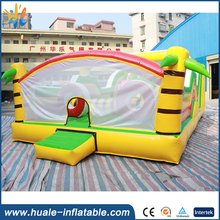 New Design Inflatable bouncer obstacle, commercial inflatable bouncer for sale