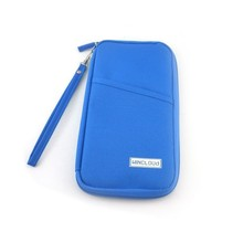 RFID security travel wallet/passport holder/travel organizer bag