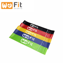 100% Latex Exercise Resistance Loop Bands/resistance bands set