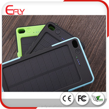 Dustproof waterproof drop resistance Portable Solar Battery Charger 8000mAh, Solar Cell phone Charger with 4 LED indicator