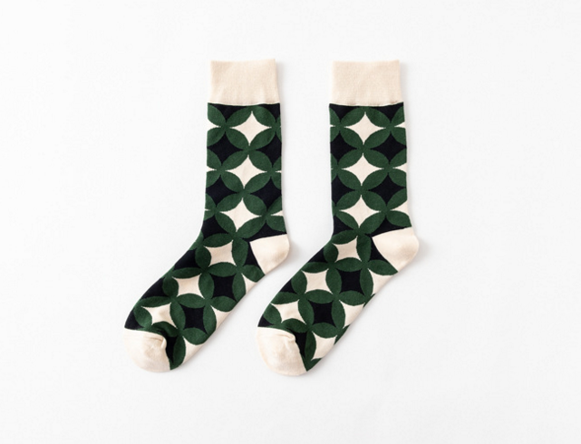 New colored dress socks chaussette homme Europe dress men sock