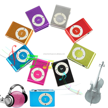 Multicolor Mini Clip MP3 Player Full Cheap MP3 Players Sport Mini MP3 Player