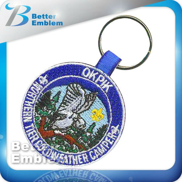 Embroidery Promotional Item Key Chain