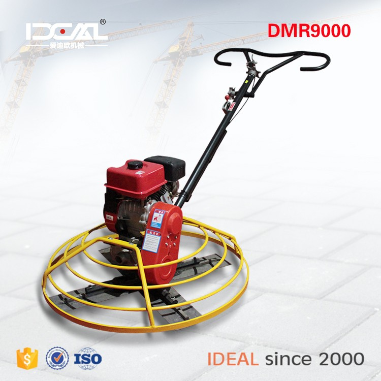 "35"" walk behind 6.5HP gasoline type 90cm used concrete power trowel machine new hot sale st-36a"