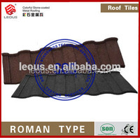 Stone Chip Coated Metal Roof Tile| Colorful Stone Coated Metal Roofing Material|Stone Coated Metal Roofing Sheet