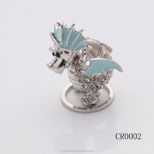 best selling artware metal craft fly dragon covered with full of diamonds 2017