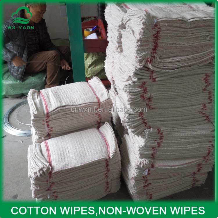 DSC1379 stitch bond waste cloth/cotton floor cloth