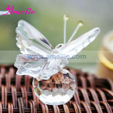A0552 Butterfly With One Gift Box Pack Stock Market Crystal Wedding Gift