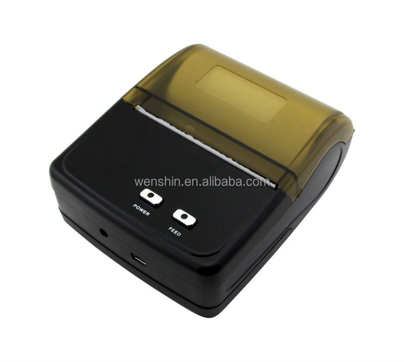 factory direct sell Android mini 3 inch/ 80mm bluetooth mobile thermal printer with RS232