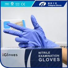 Gold Manufacturer purple nitrile gloves malaysia